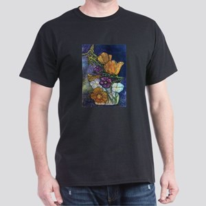 Poppies & Pansies Dark T-Shirt