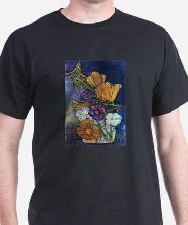 Poppies & Pansies T-Shirt