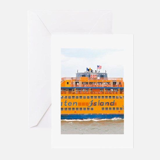 NYC: Staten Island Ferry Greeting Cards (Pk of 10)