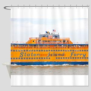 NYC: Staten Island Ferry Shower Curtain
