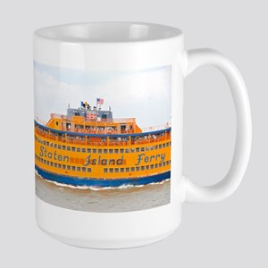 NYC: Staten Island Ferry Large Mug