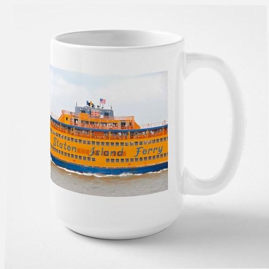NYC: Staten Island Ferry Large Mug