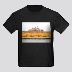 NYC: Staten Island Ferry Kids Dark T-Shirt