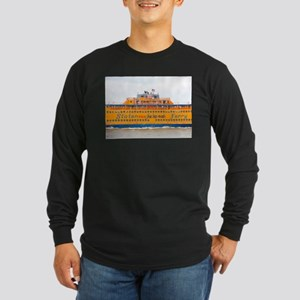 NYC: Staten Island Ferry Long Sleeve Dark T-Shirt