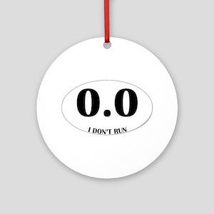 Anti-Marathon Sticker Ornament (Round)