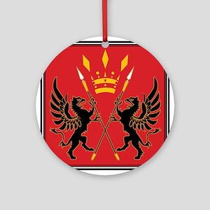 San d'Oria Flag Ornament (Round)