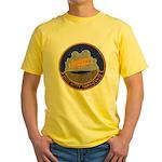 USS KITTY HAWK Yellow T-Shirt