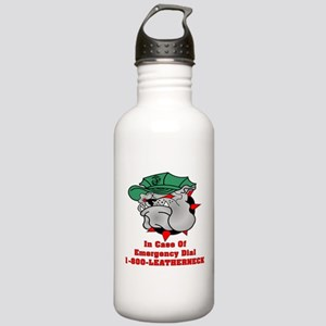 1-800-LEATHERNECK Stainless Water Bottle 1.0L