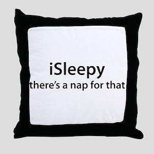 iSleepy Throw Pillow