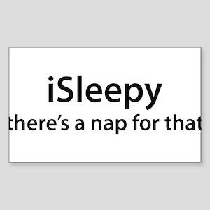 iSleepy Sticker (Rectangle)