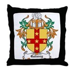 Galwey Coat of Arms Throw Pillow