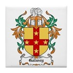 Galwey Coat of Arms Tile Coaster