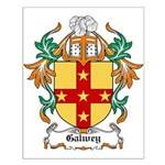 Galwey Coat of Arms Small Poster