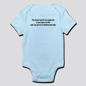 You're An Engineer Infant Bodysuit