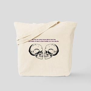 Greg Egans love within skulls Tote Bag