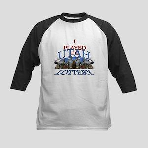Utah lottery Kids Baseball Jersey