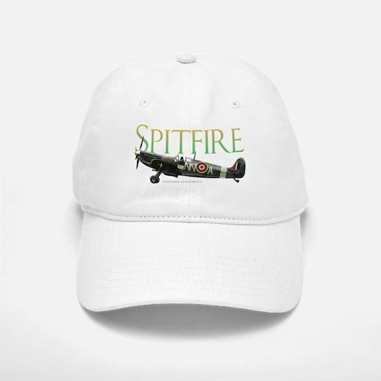 Beautiful Spitfire graphic on Baseball Baseball Cap