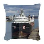 Algoma Transfer Woven Throw Pillow