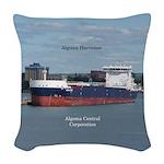 Algoma Harvester Woven Throw Pillow