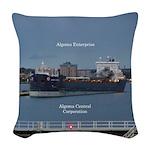 Algoma Enterprise Woven Throw Pillow