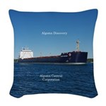 Algoma Discovery Woven Throw Pillow