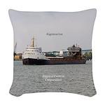 Algomarine Woven Throw Pillow