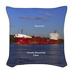 Saguenay Woven Throw Pillow