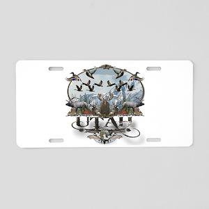 Utah outdoors Aluminum License Plate