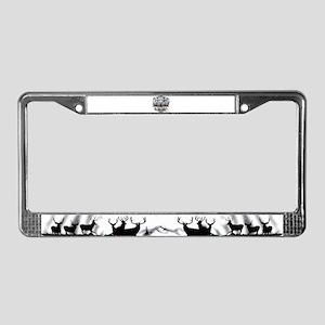 Utah outdoors License Plate Frame