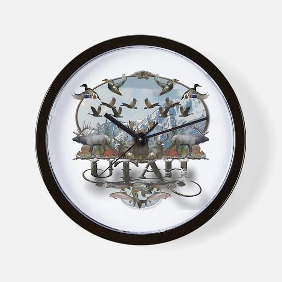 Utah outdoors Wall Clock