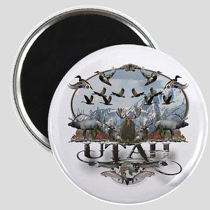 Utah outdoors Magnet
