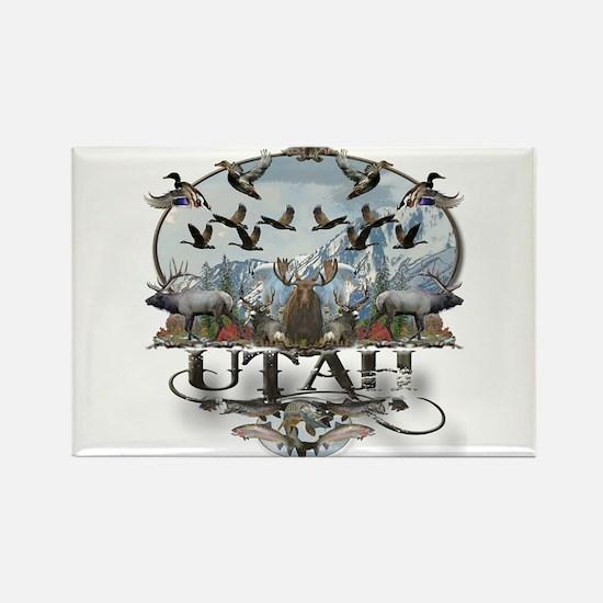 Utah outdoors Rectangle Magnet