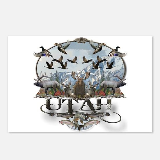 Utah outdoors Postcards (Package of 8)