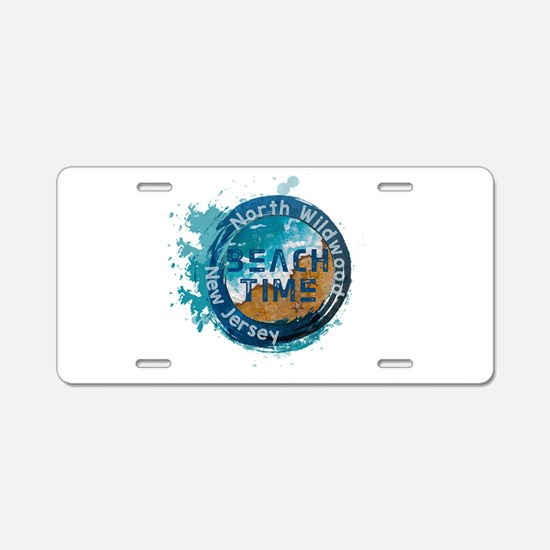 New Jersey - North Wildwood Aluminum License Plate
