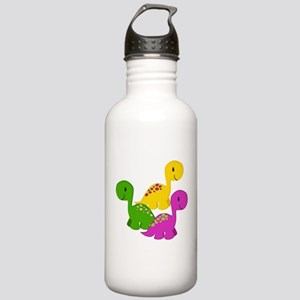Baby Dino Triplets Stainless Water Bottle 1.0L