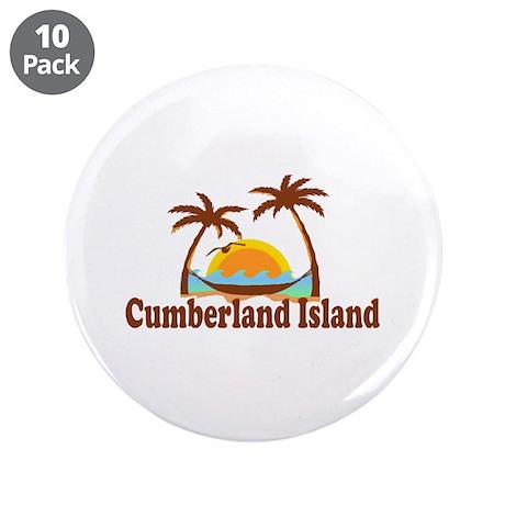 "Cumberland Island GA - Palm Trees Design. 3.5"" But"