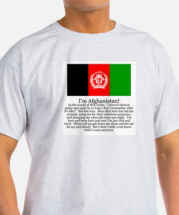 Afghanistan Gray T