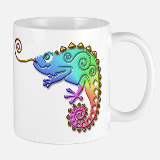 Cool Colored Chameleon Mug