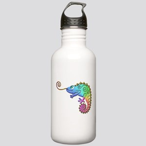 Cool Colored Chameleon Stainless Water Bottle 1.0L