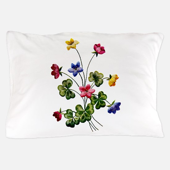 WOODSORREL_Embroidery.png Pillow Case