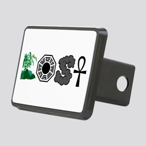 LOST Symbols Rectangular Hitch Cover