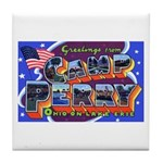 Camp Perry Ohio Tile Coaster