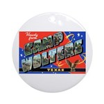 Camp Wolters Texas Ornament (Round)