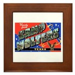 Camp Wolters Texas Framed Tile