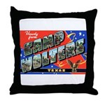 Camp Wolters Texas Throw Pillow