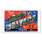 Camp Wolters Texas Rectangle Sticker
