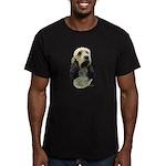 Basset Griffon Vendeen Men's Fitted T-Shirt (dark)