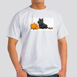 Scottish Terrier Halloween Ash Grey T-Shirt