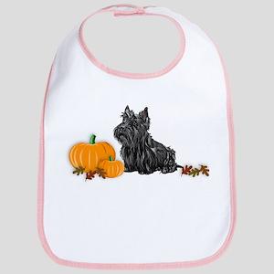 Scottish Terrier Halloween Bib