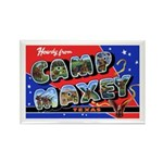 Camp Maxey Texas Rectangle Magnet (10 pack)